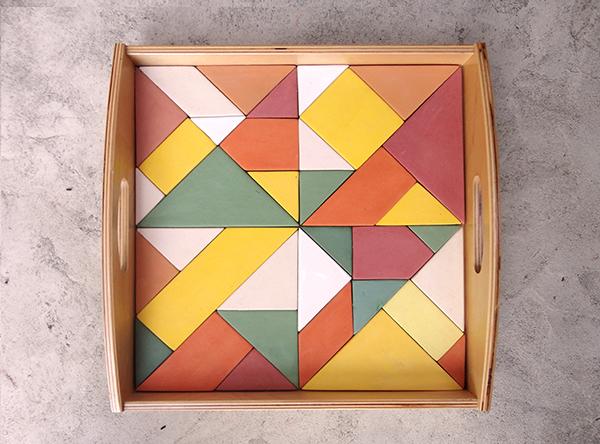 vassoio tangram - pobiatiecurcio