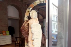 arco e arcangelo - ornella pobiati   esposizione presso atelier aequilibrium
