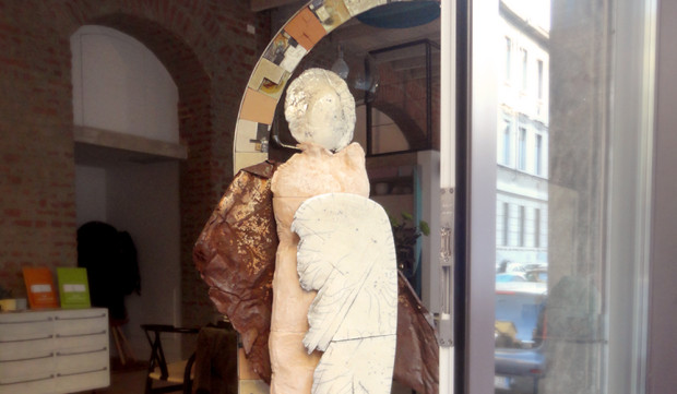 arco e arcangelo - ornella pobiati | esposizione presso atelier aequilibrium